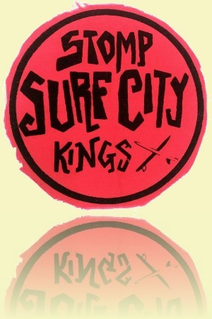 Surf City cloth patch Early 1960s Mick Mock Collection++