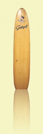 Pig Wallace Surfboards, Bronte, c1959, balsa, fibreglass and resin. Shaped by 