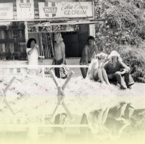 Warriewood beach kiosk, photographer unknown, 1970s. Courtesy Dale Egan++