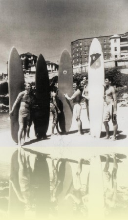 South Bondi Boardriders, photographer unknown, c1958. Courtesy Barry McGuigan++