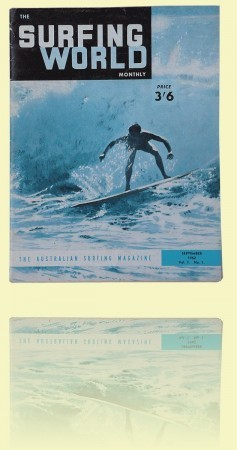 Surfing World Edited by Bob Evans, Sydney, vol 1, no 1, September 1962 Private collection++