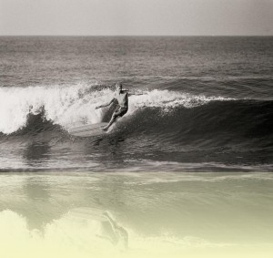 Midget Farrelly at Palm Beach, John Witzig, c1960s. Courtesy and © John Witzig++