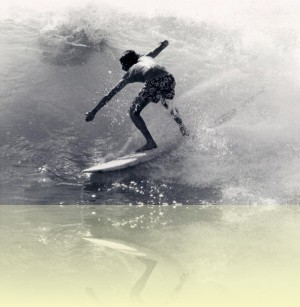 Cronulla surfer, Alistair Waddell, 1970s. Courtesy and © Alistair Waddell++