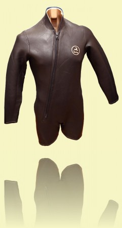 Whitestag short-legged wetsuit, Mid 1960s. Mick Mock Collection ++