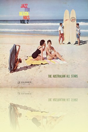 Jazz for beachniks vol 2	 The Australian All Stars, Columbia, 1962	 Courtesy Anne-Louise Falson. <br>Cover photograph © Estate of Ron Falson. Cover design © Sony Music Entertainment Pty Ltd  ++